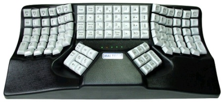 Dual-Handed Ergonomic 3D Keyboard