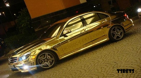 Carro de ouro