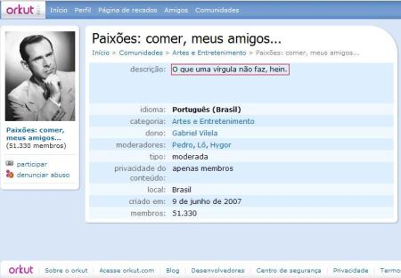 Orkut Fail